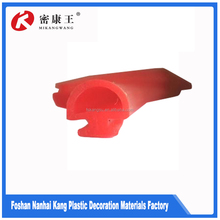 Practical silicone edge seal thin rubber strip