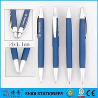 gift pen logo pen,cheap pen,promotional ball pen plastic pen silver pen
