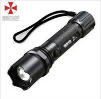 Umbrella 8523 LED bike Torch change zoom wholesale