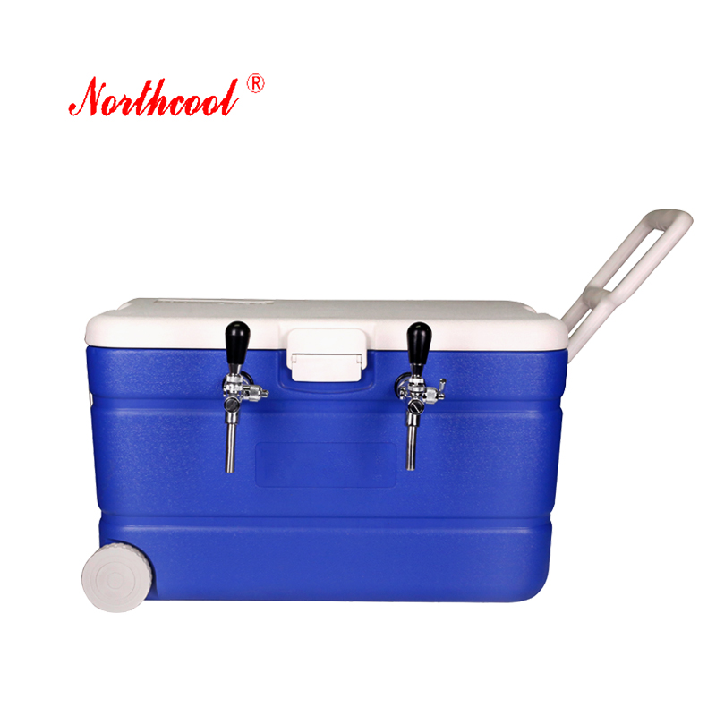 15l coil jockey portable beer dispenser with table