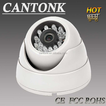 Hottest CCTV camera CMOS 800TVL plastic 20m 3.6mm fixed IR indoor Dome