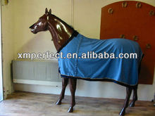 Blue 280gsm horse fleece cooler
