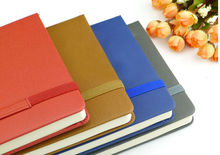 2015 new design moleskin notebook,Customize the new elastic notebook