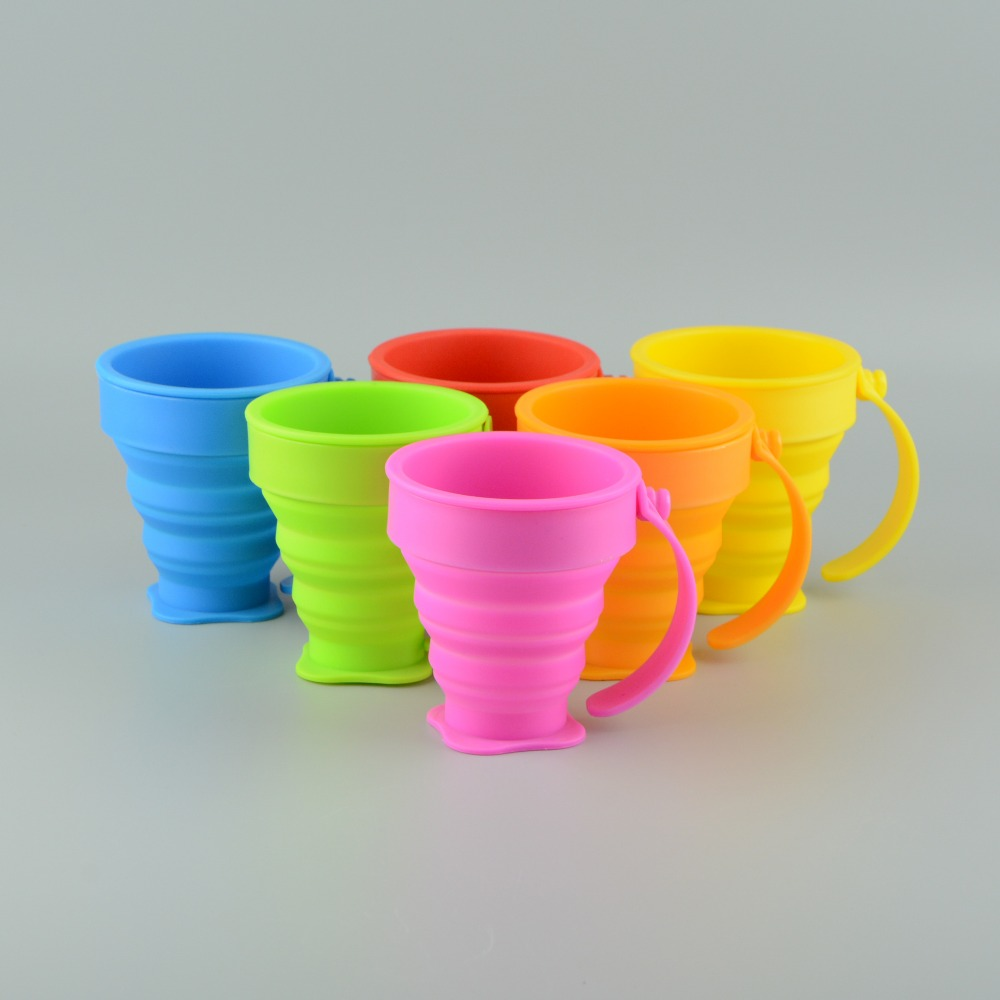 Outdoor Drinkware Silicone Collapsible <strong>Cup</strong>