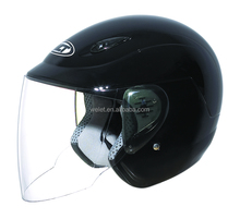 Open face helmet with ABS raw material