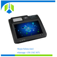 All in one hot selling 10.1 inch Restaurant Android Pos Terminal with IC card reader for the loyalty programe--Gc039B