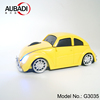 Christmas Gifts VW Beetle Car Shape Wireless Mouse Wired Mouse with USB Receiver