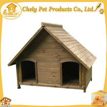 Fashional Two Door Dog House Pet House For Sale With Adjustable Feet Pet Cages,Carriers & Houses