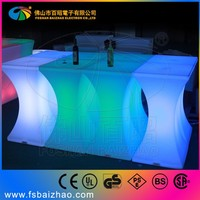 highboy cocktail table / LED commercial bar table / LED modern table