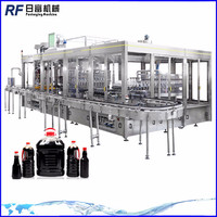 Automatic oil bottling line