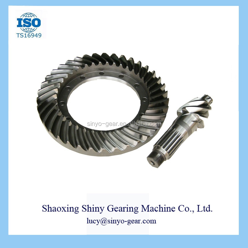Car Automobile Main Reduction Gear Made by Shiny Gearing Machine