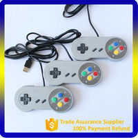 2017 Wired USB Classic Controller for Super Nintendo SNES support PC& Android tv box