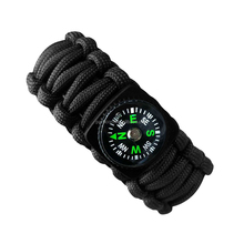 Chinese merchandise camping equipment emergency kit 550 450 paracord bracelet with firestick for camping accessories