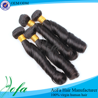Good prices peruvian virgin hair weave remy indian hair factory spring curls braiding hair