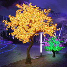 waterproof IP65 for outdoor park street led christmas light maple trees