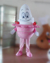 new walking ice cream mascot costume/ice cream costume/frozen yogurt mascot costume