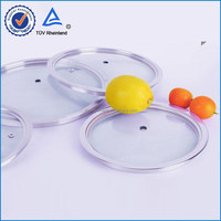 High quality tempered glass cookware lid