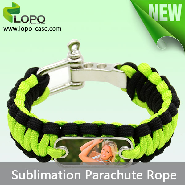 Sublimation parachute rope as easy to collocate with sublimation sportswear