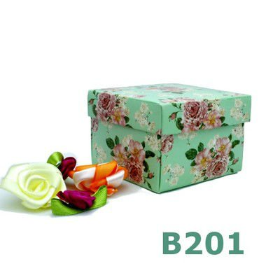 Vintage wedding favor box Party favour box