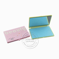 TM-OAS0723 refillable oil absorbed paper sheet in plastic case with mirror packing, 70pcs/pack