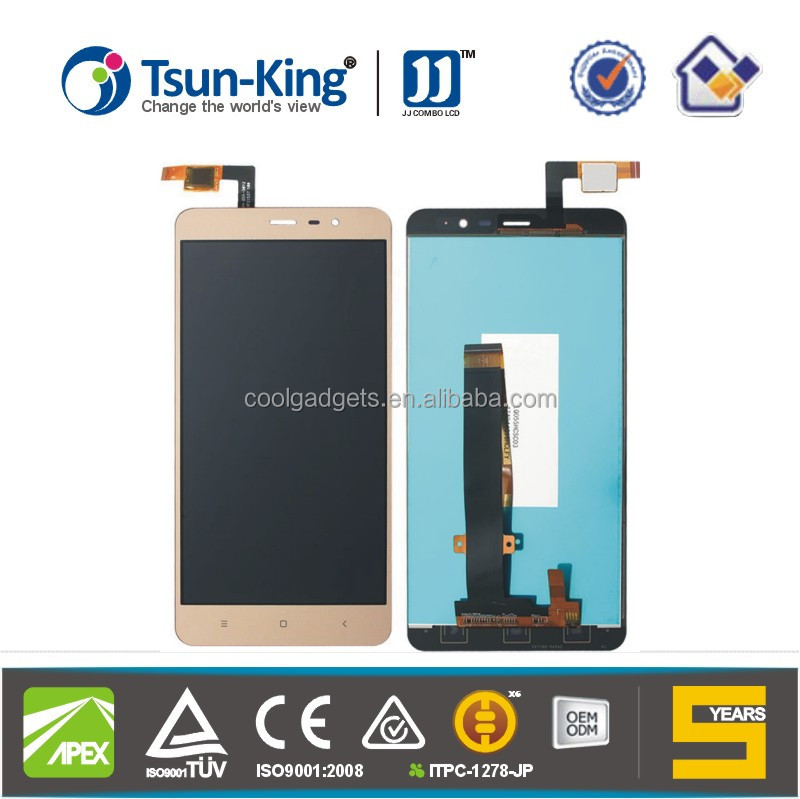 "Tsun-King Combo LCD Replacement LCD for Mi Redmi Note 3 5.5"" inch LCD Display and Touch Screen Digitizer"