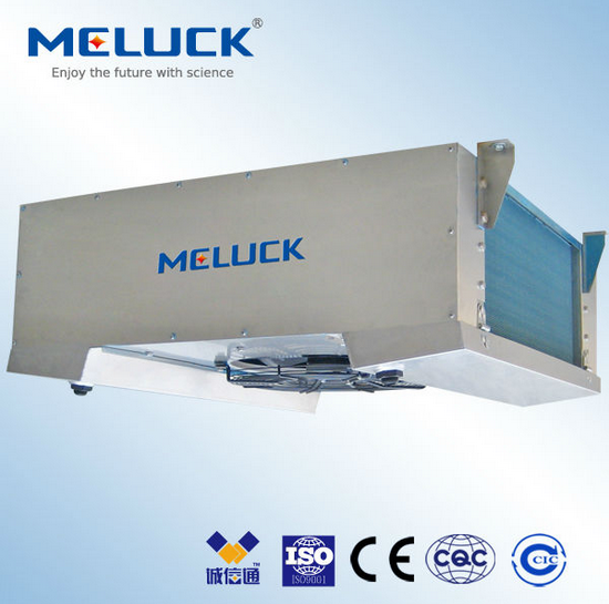 Double Side Blowing Effective Air Coolers Meluck heat exchangers for cold rooms at competitive price