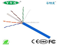 23AWG Copper Conductor Lan Cable Cat5 Cat6 Network Cable