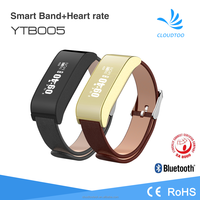 Hot selling Bluetooth smart fitness tracker bracelet with heart rate monitor