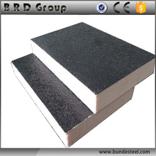 high density wall panel used fireproof polyurethan foam