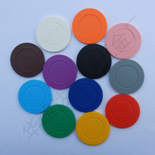 High quality new design cheap plastic token coins