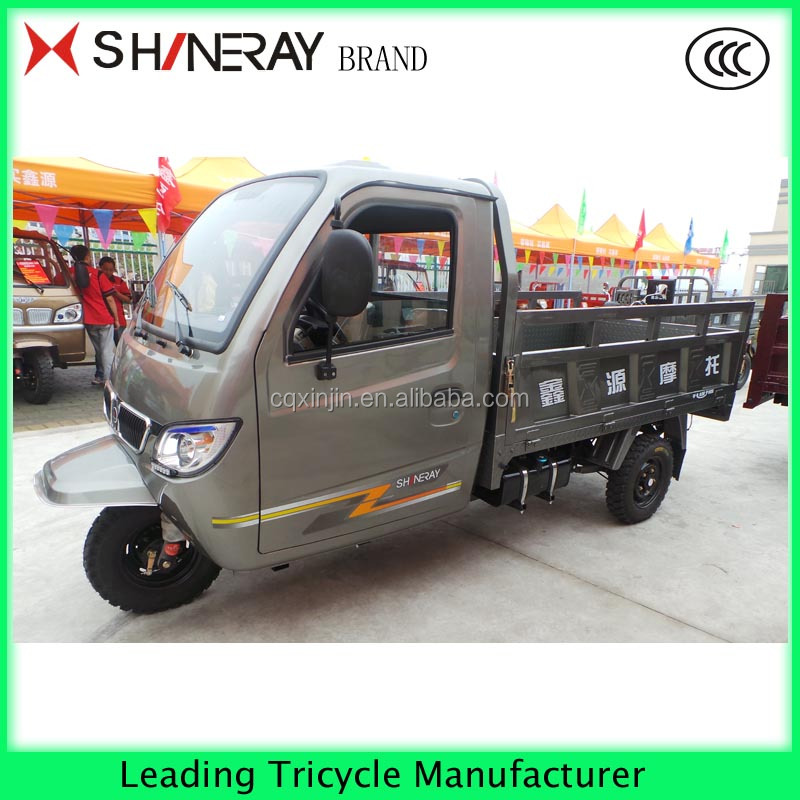 OEM service enclosed drivring cabin tricycle tricycle hot sale in Africa disabled tricycle