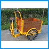 Heavy Duty Front Loading Truck Cargo Tricycle Electric System