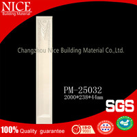Eco-friendly building material column speaker