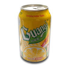 Lemon Carbonated Drink in Can(tinned)