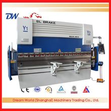 Do you know why WE67K-100T3200 automatic hydraulic aluminum cnc press brake with DELEM DA52S controller become popular