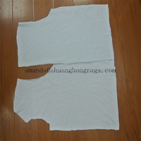 Cut cleaning white cotton wiping rags