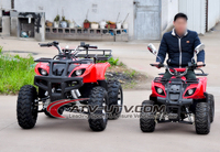4 wheel shaft drive 800w or 1000w optional electric atv quad 4x4