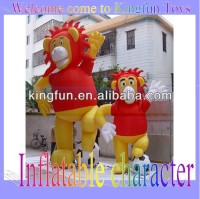 2013 Super inflatable Lion king charater