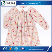 print baby girls dress for child clothing