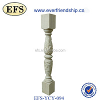 antique hand carved wood rail (EFS-YCY-094)