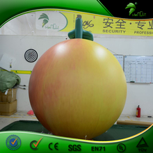 Giant Customized Inflatable Peach for Decoration Promotion Inflatable Fruit Vegetable Model