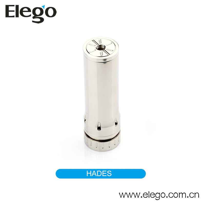 Elego e-Cig Vaporizer Hades Mechanical Mod Stainless Steel Hades Mod Made in China
