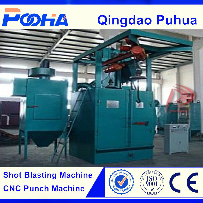 Q37 Automatic hook shot blasting equipment / shot blaster