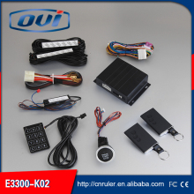 Car security alarm with 6/8 wire ignition switch engine start stop system hot selling worldwide