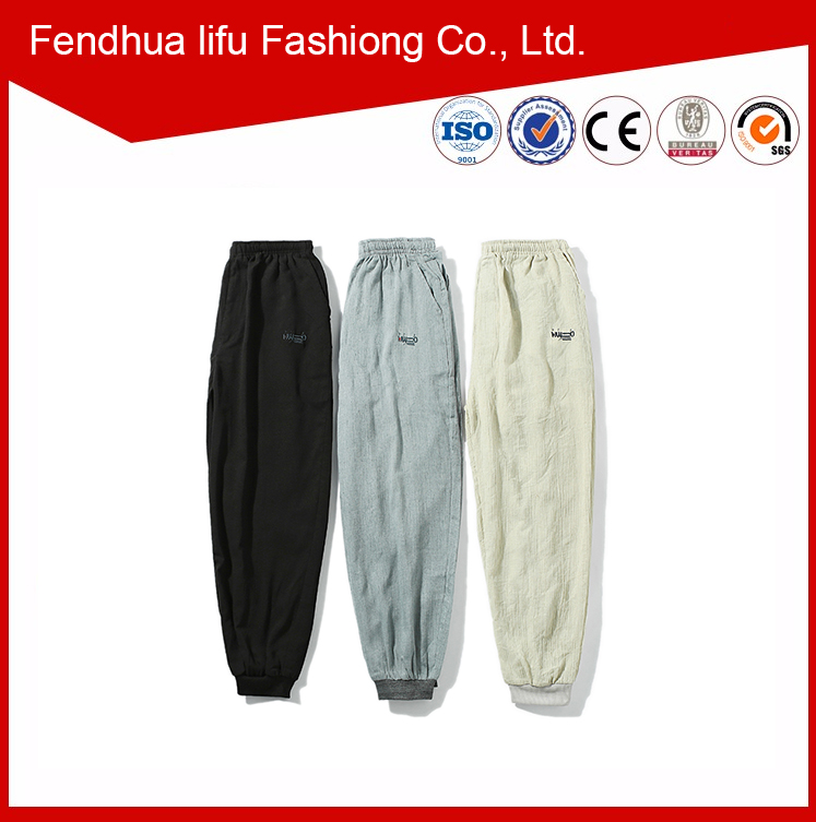cutting of ladies trousers,crane custom design casual pants