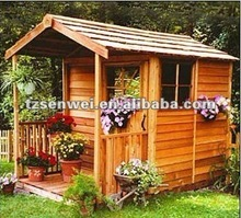simple Outdoor garden House,gazebo garden gazebo bamboo house,economic prefabricated wooden house