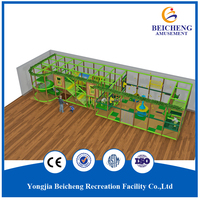 2 Story Tree House Indoor Playground, Kids Naughty Castle Commercial Sale