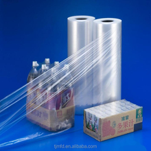 plastic wrapping film LLDPE and LDPE shrink film Colored blow molding pallet cover blue transparent customized
