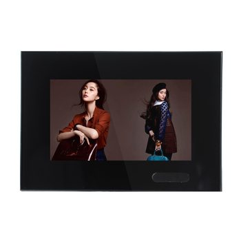 7 inch wall mounted Motion Sensor Activated digital screen