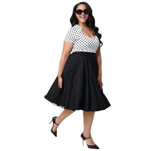 Latest Black Sexy Short Party Dresses For Fat Women plus size Dress